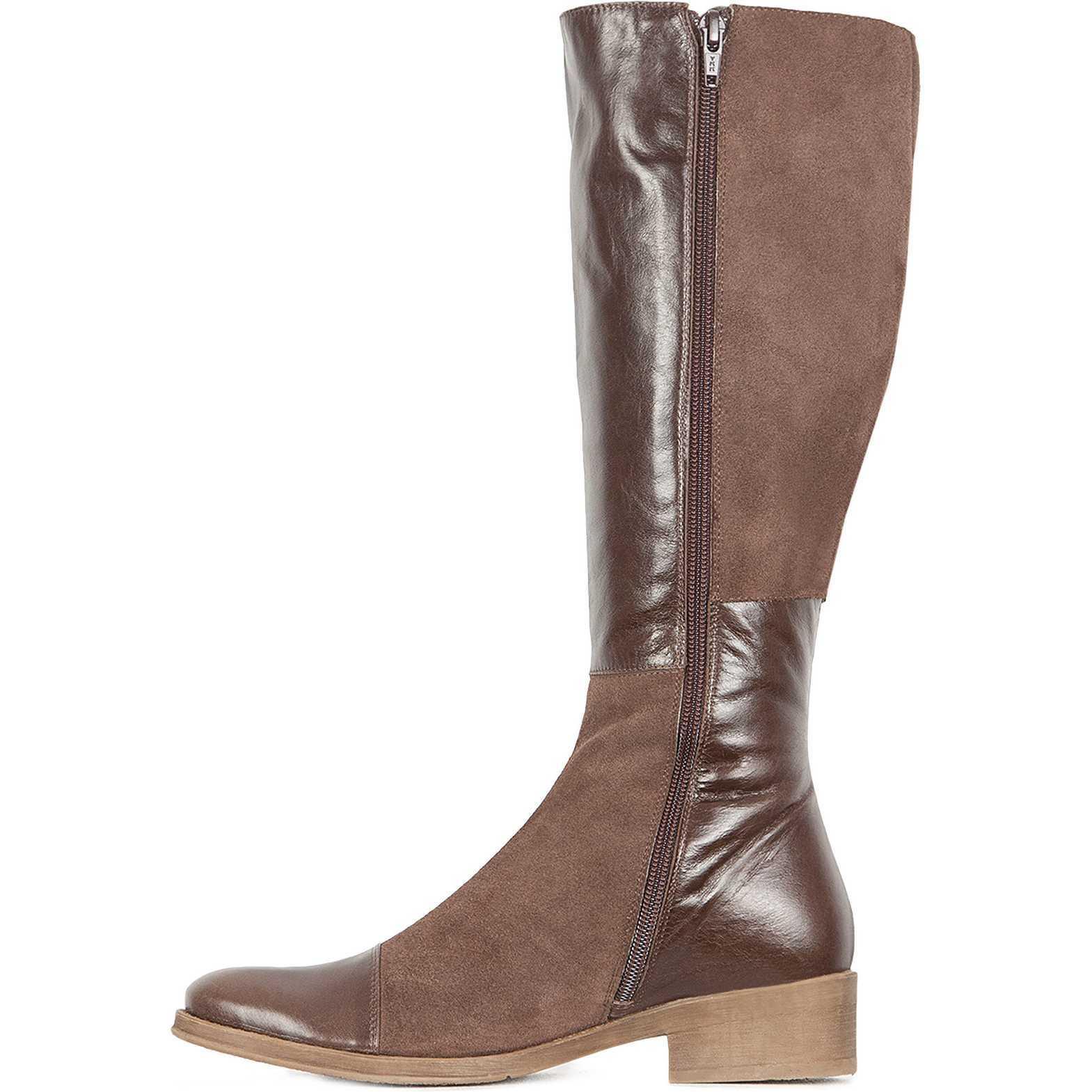 Reduceri cizme femei din piele naturala brand Ecco