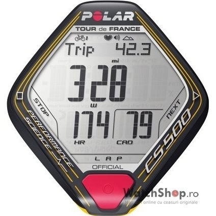 Ceas Polar CYCLING COMPUTERS CS 500 Tour de France 90042408