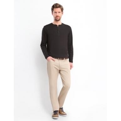 Pantaloni cu buzunare ascunse pe spate - Beige SSP1604BE