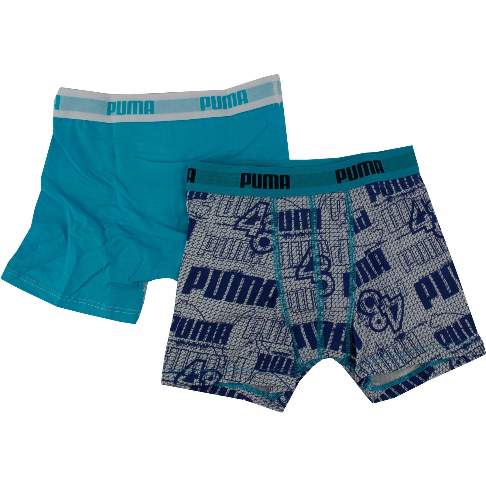Boxeri copii Puma 2 pack Basic Mini 5350040012