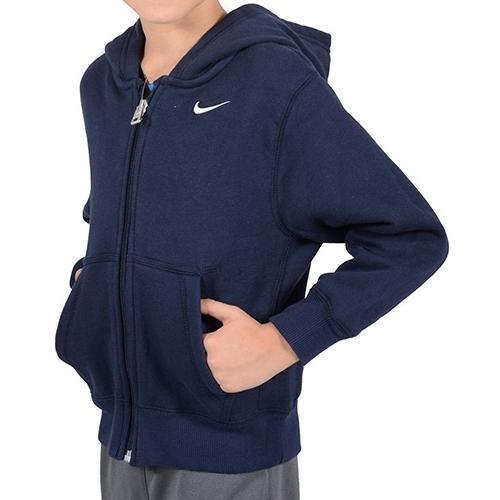 Hanorac copii Nike YA76 BF FZ Hoody 433250-451