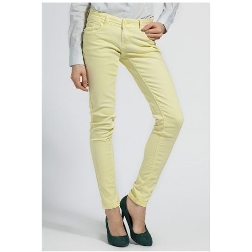 Alcott - pantaloni - galben - 4980-SPD074