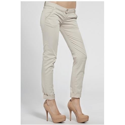 Fracomina - pantaloni - crem - 4981-SPD064