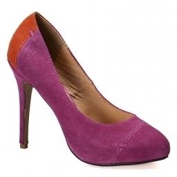 Friis Company - pantofi Camila - roz - 4981-OBD230