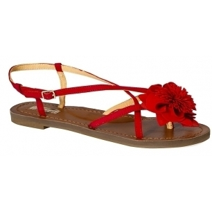 Buffalo - sandale Imi - rosu - 4971-OBD275