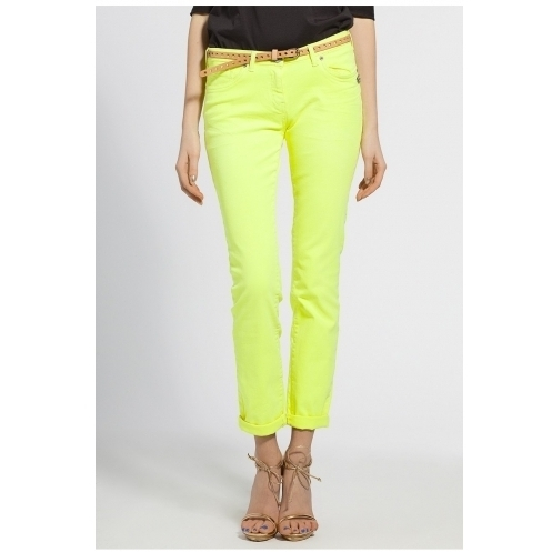 Maison Scotch - pantaloni - galben - 4971-SPD039