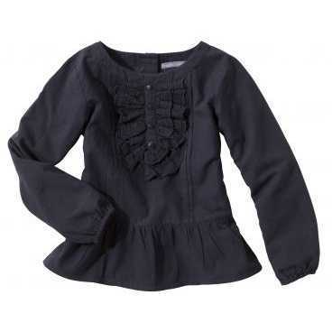 Bluza maneca lunga 3 SUISSES COLLECTION bumbac pentru fete