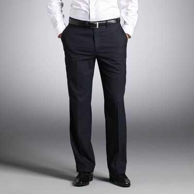 Pantaloni fara pense cu betelie clasica barbati