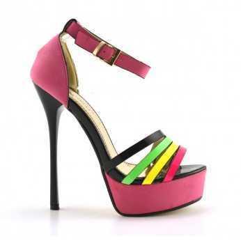 Sandale Greti Roz