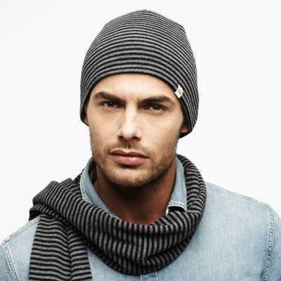 Caciula din tricot cu dungi LEVI'S barbati