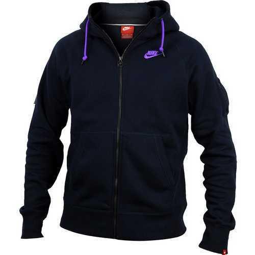 Hanorac barbati Nike AW FLC FZ Hoody 598759-476