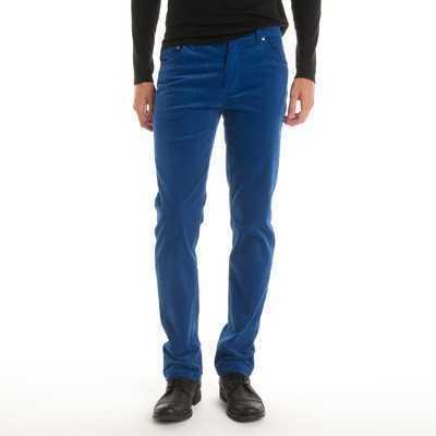 Pantaloni cu 5 buzunare din catifea pentru barbati