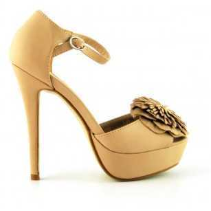 Sandale Karo Bej