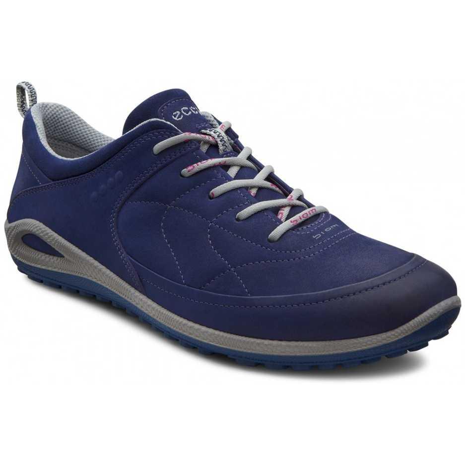 Pantofi sport dama piele iac ECCO Biom Grip Lite (albastru inchis)