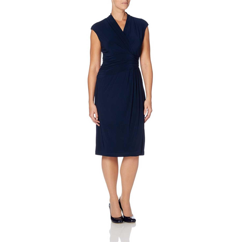 Rochie eleganta, de culoare bleumarin