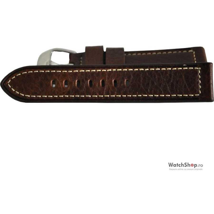 Curea (bratara) WS 1412-Brown 22mm