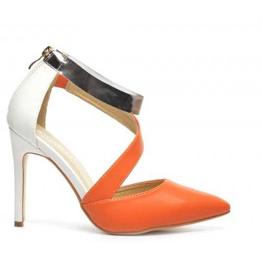 Sandale Anes Portocalii