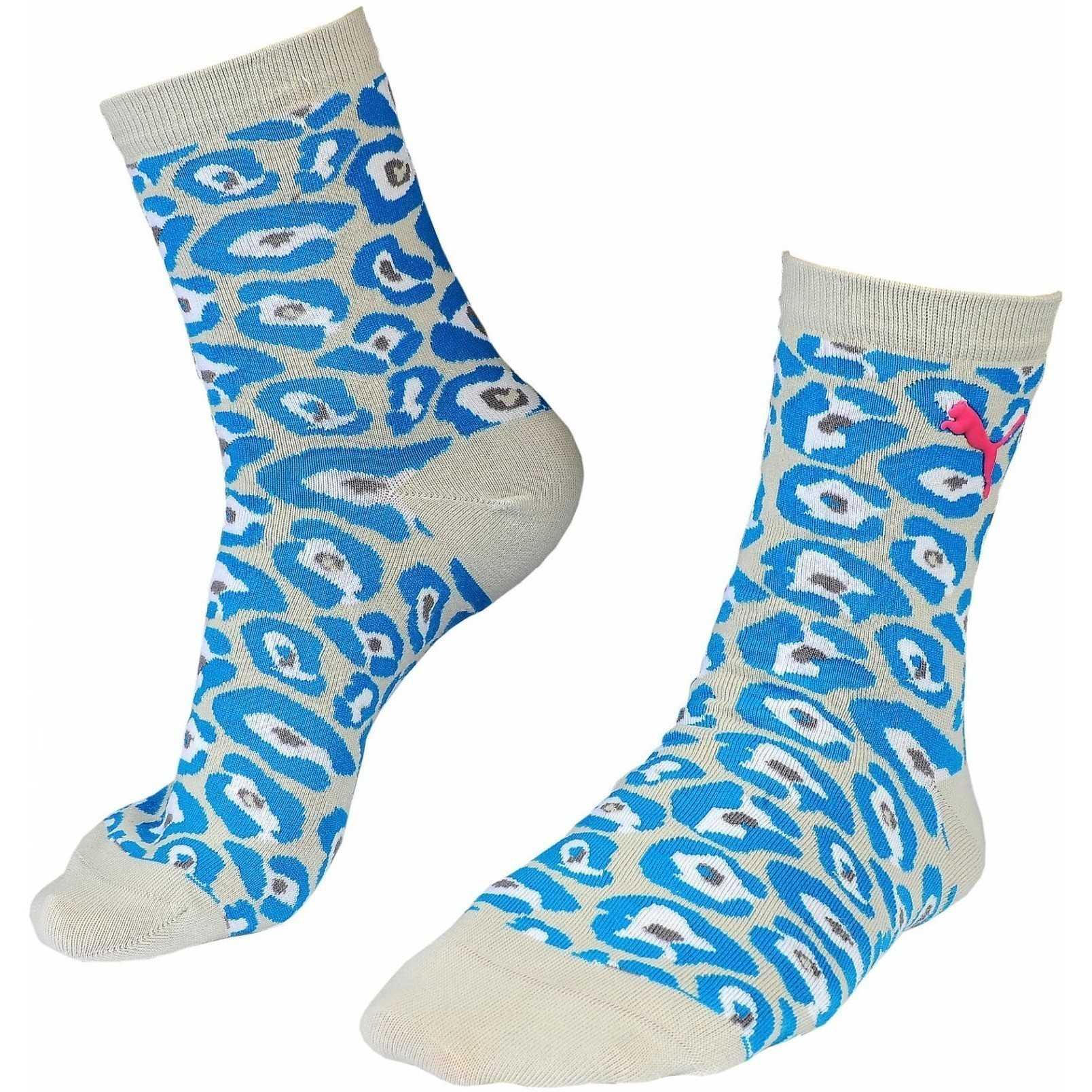 Sosete femei Puma Leopard Socks 88568004