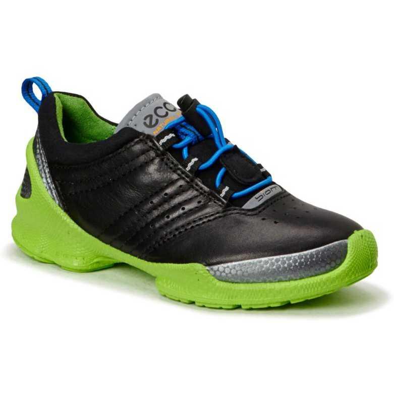 Pantofi copii ECCO Biom Train negru/verde