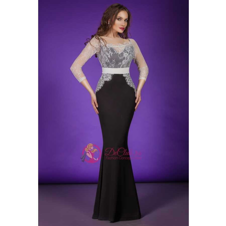 Rochii elegante Scarlett negre