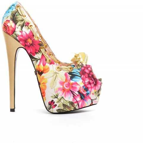 Pantofi Edera Bej