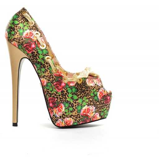 Pantofi Edera Maro
