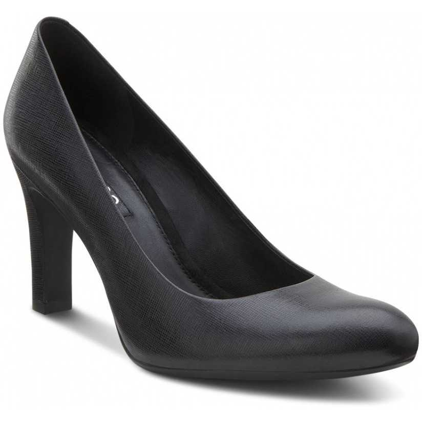 Pantofi negri eleganti piele naturala ECCO Turino