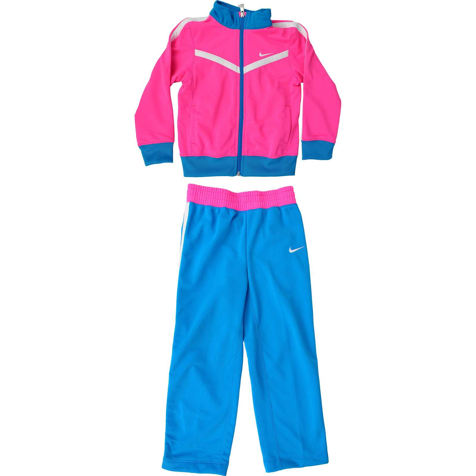Trening copii Nike T40 Tricot Warm Up Lk Sweatsuit 618176-667