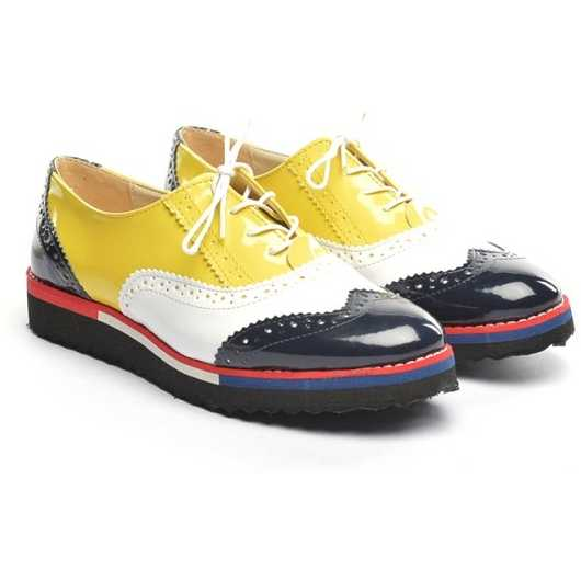 Pantofi Sport Roja Galbeni