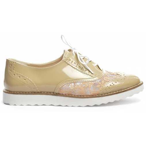 Pantofi Sport Amster Bej