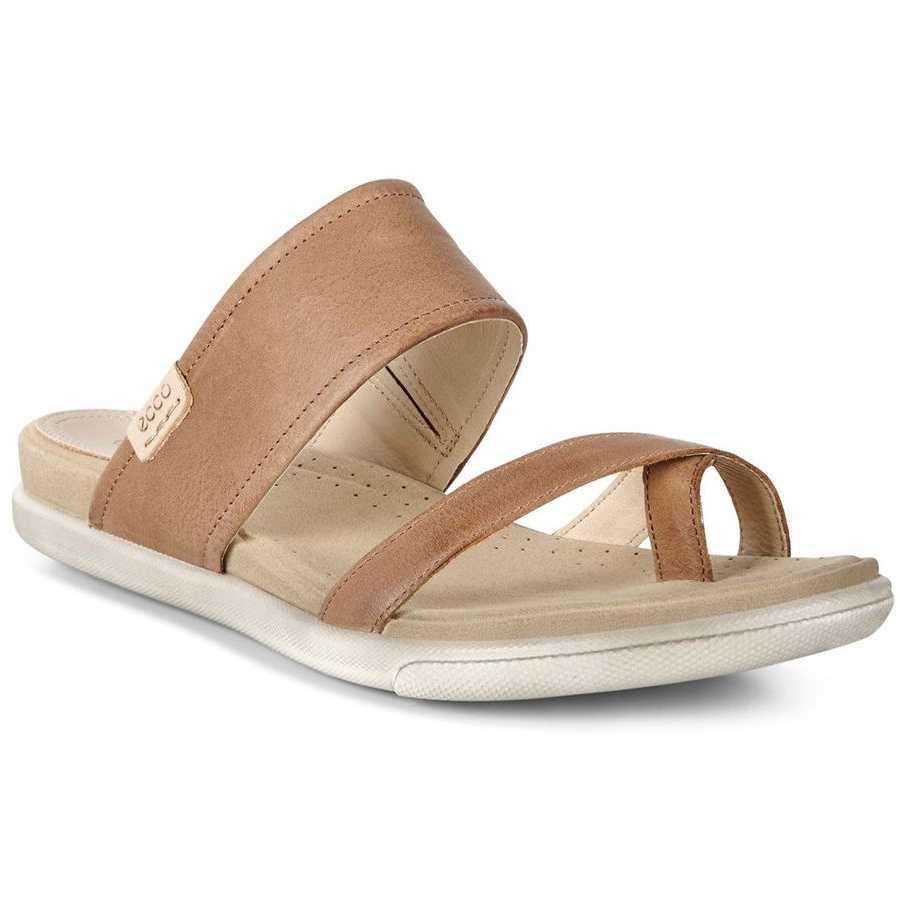 Sandale casual femei ECCO Damara (Camel)