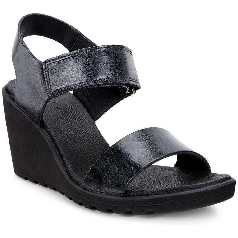 Sandale casual femei ECCO Freja (Negru)