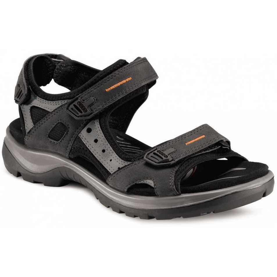 Sandale dama piele nubuc ECCO Offroad (negru)