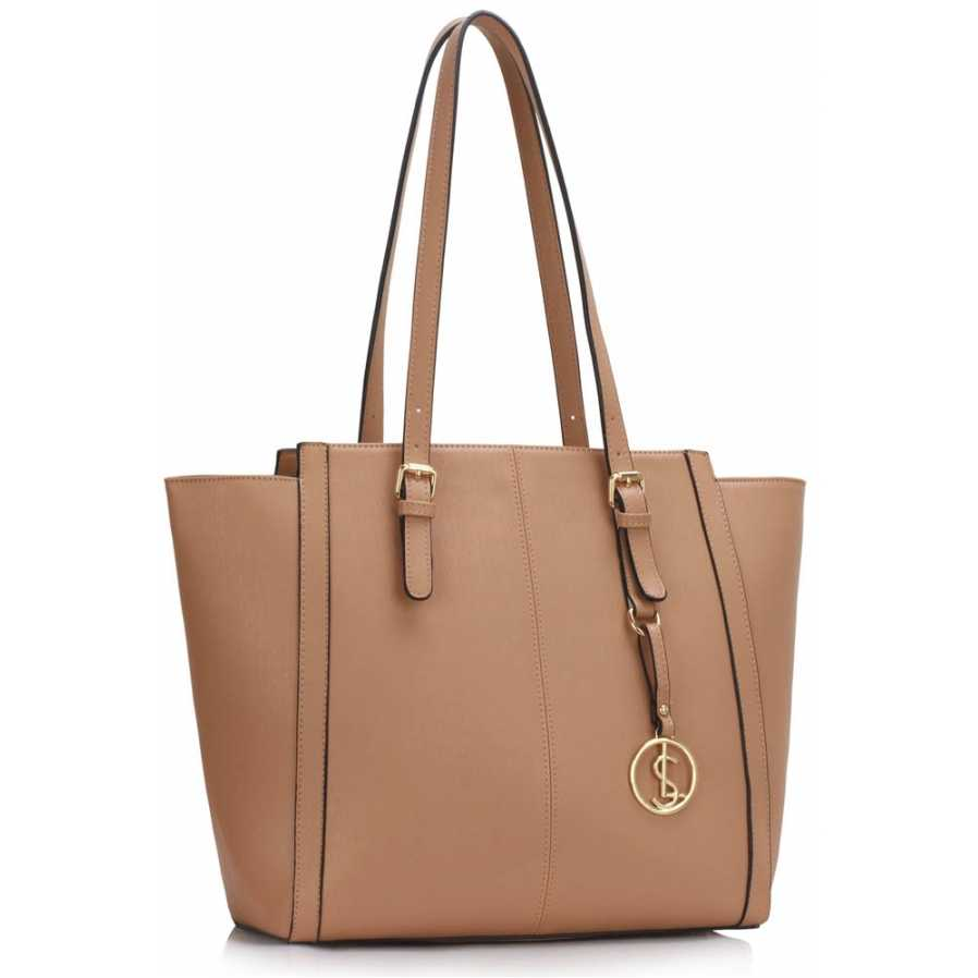 Geanta tote large Nude Women's