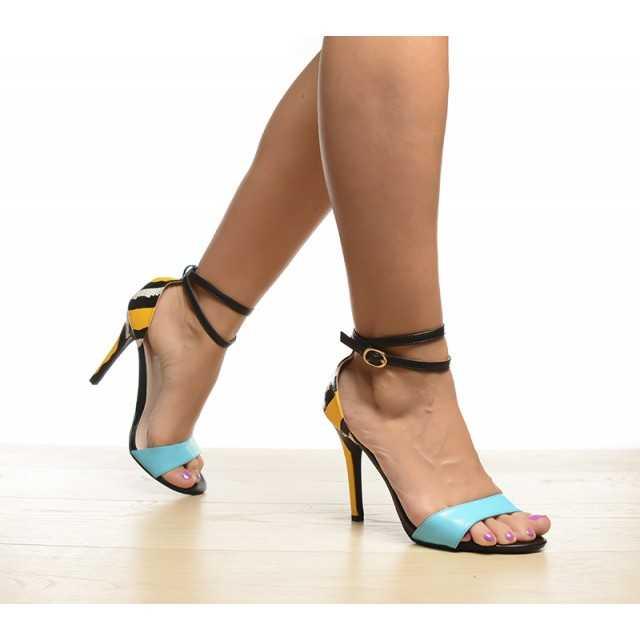 Sandale Belo Albastre