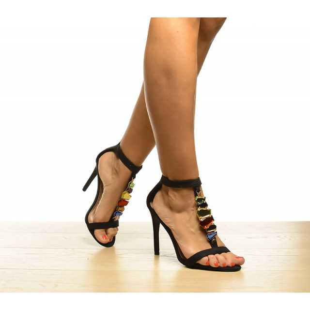 Sandale Oby Negre