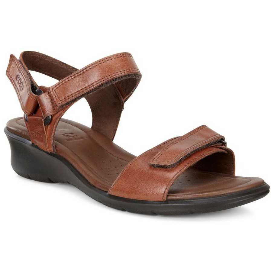 Sandale casual dama ECCO Felicia (Mahogany)