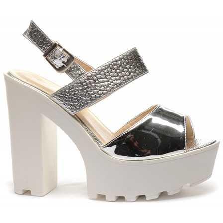 Sandale Mony Argintii