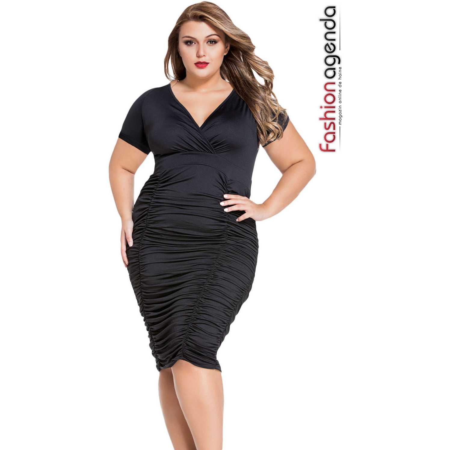 Rochie XXL Desire 63 Black
