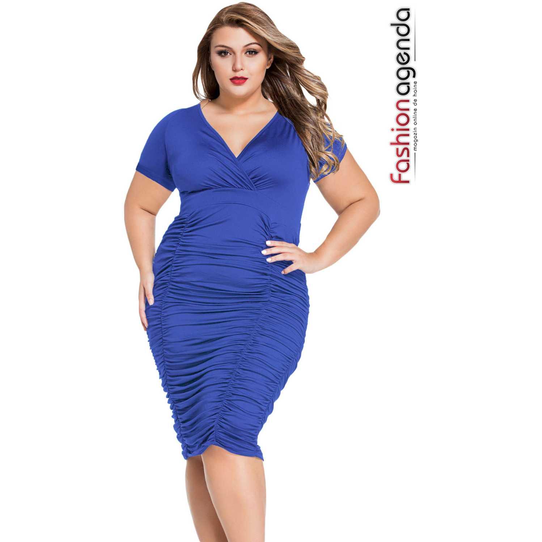 Rochie XXL Desire 63 Blue