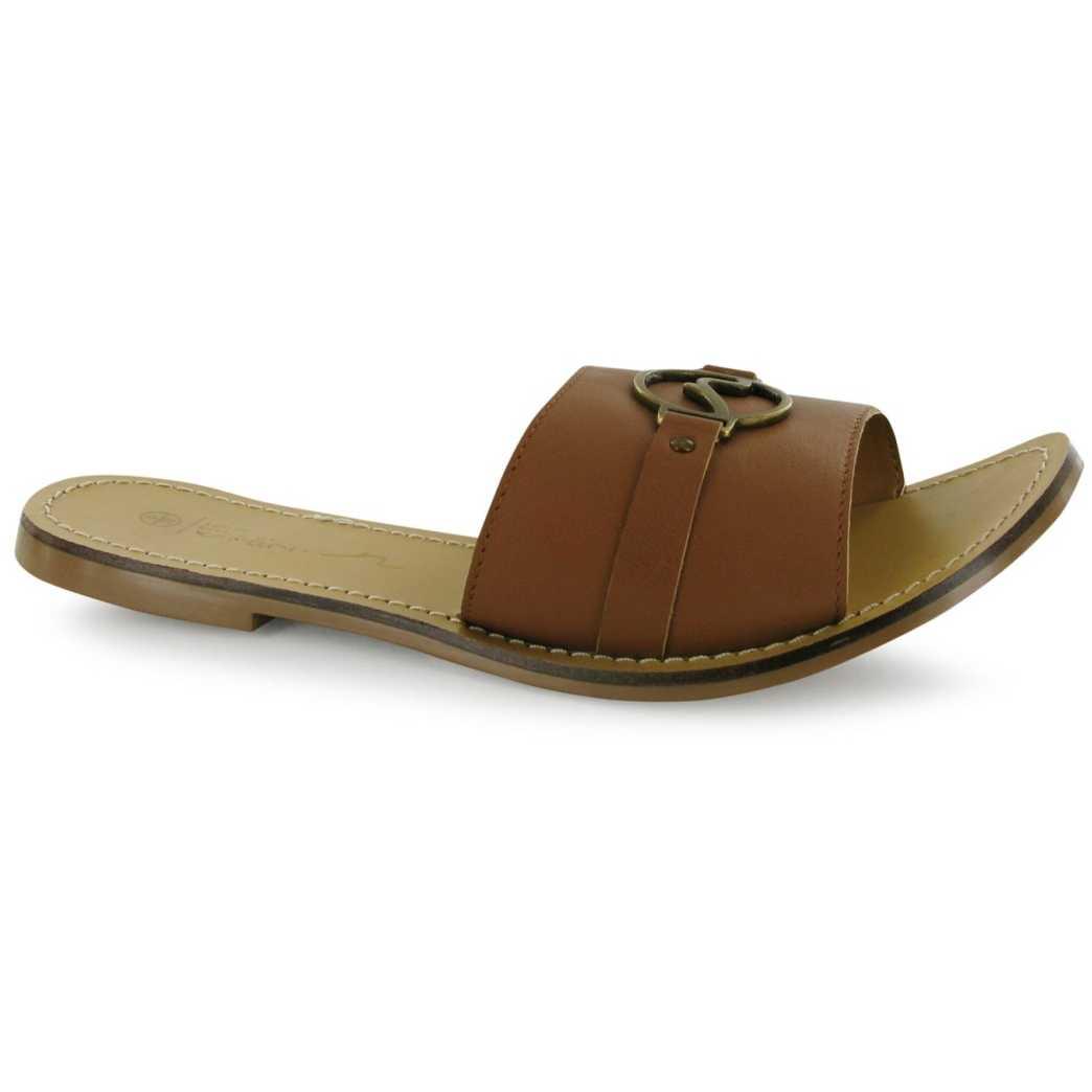 Papuci confortabili, de culoare maro-Kangol