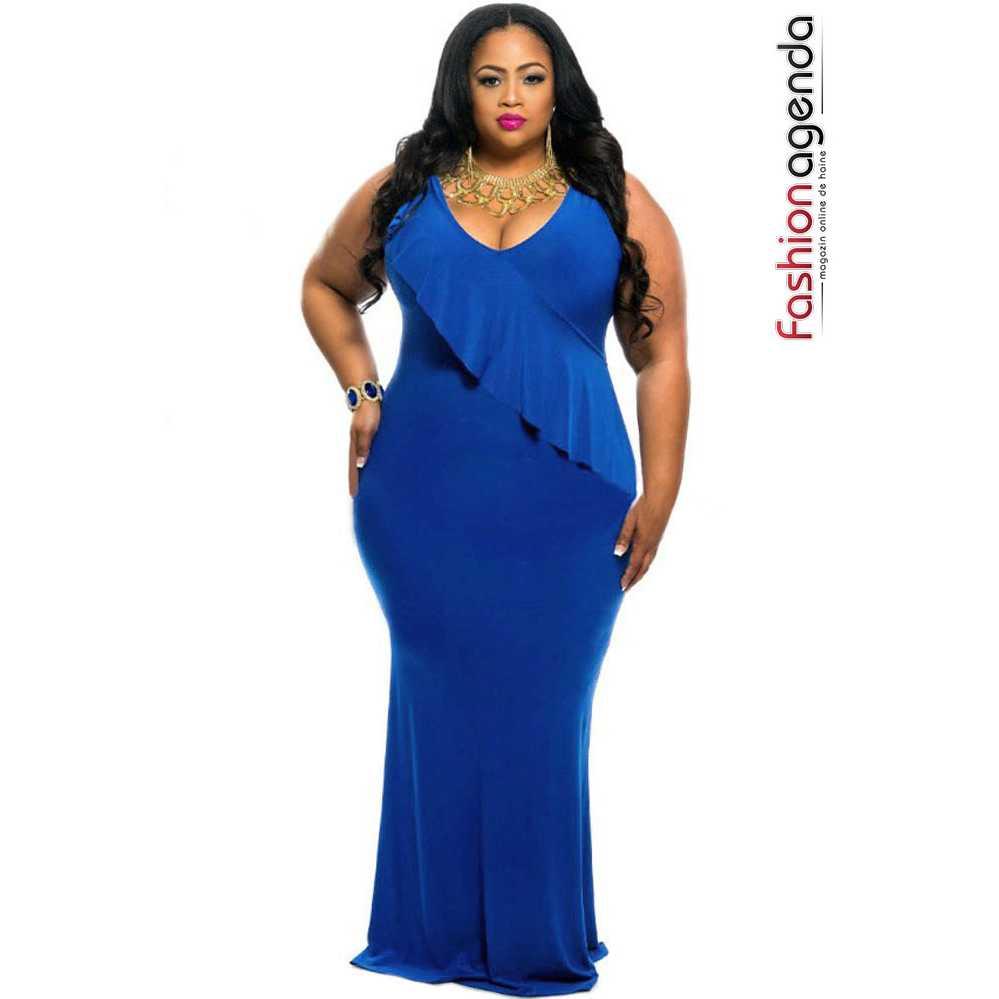 Rochie XXL Desire 62 Blue