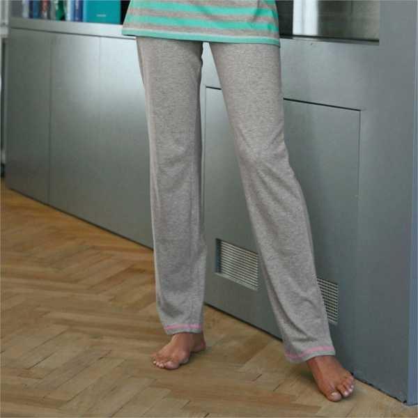 Pantalon de pijama uni