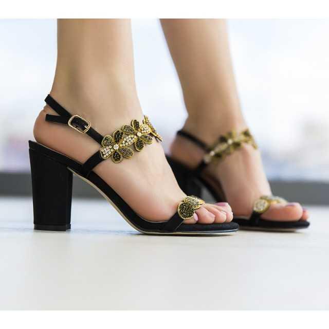 Sandale Fertoni Negre