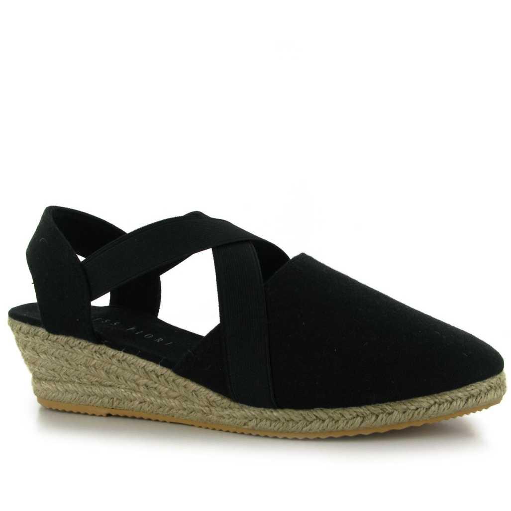 Sandale moderne, de culoare neagra