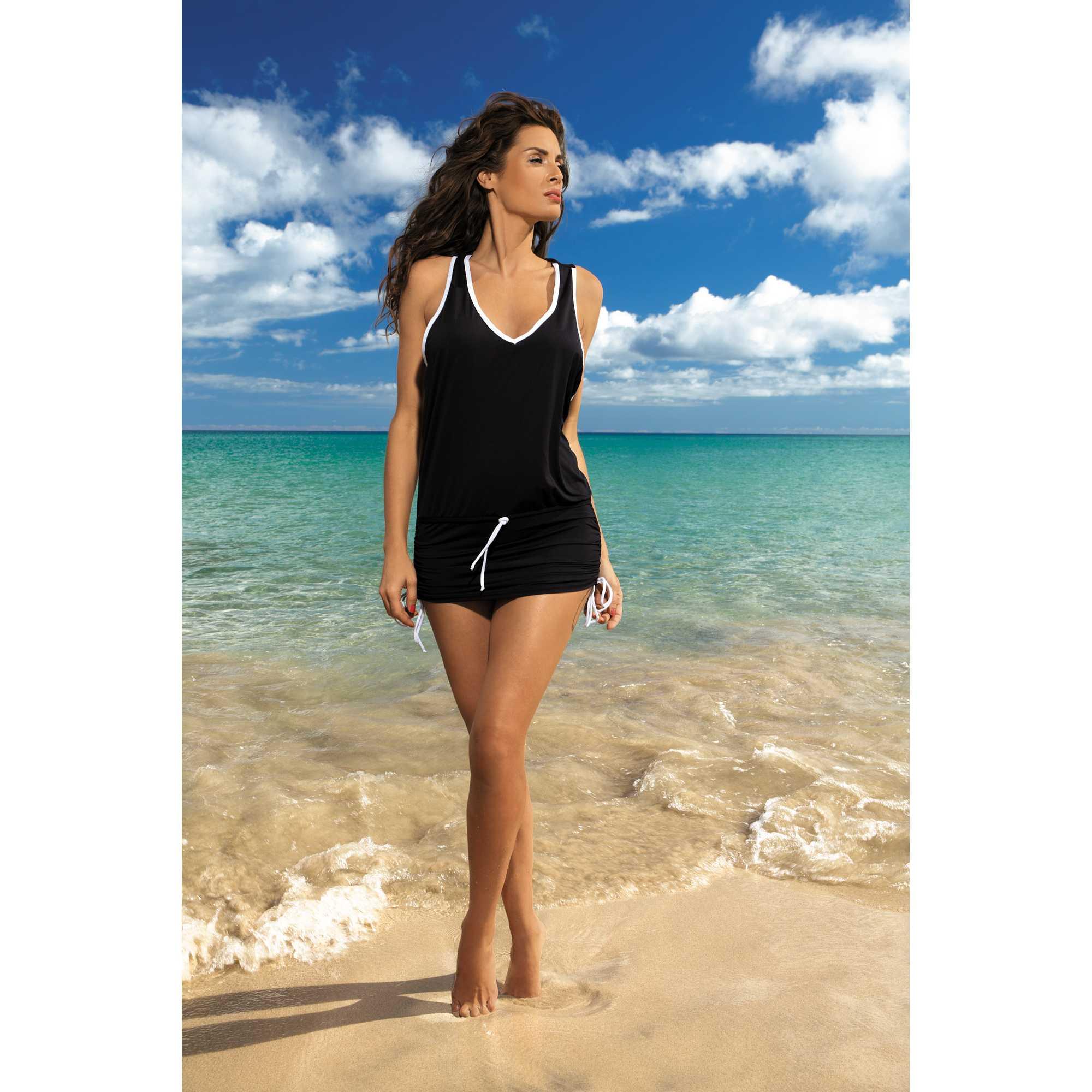 Rochie de plaja Elsa Nero