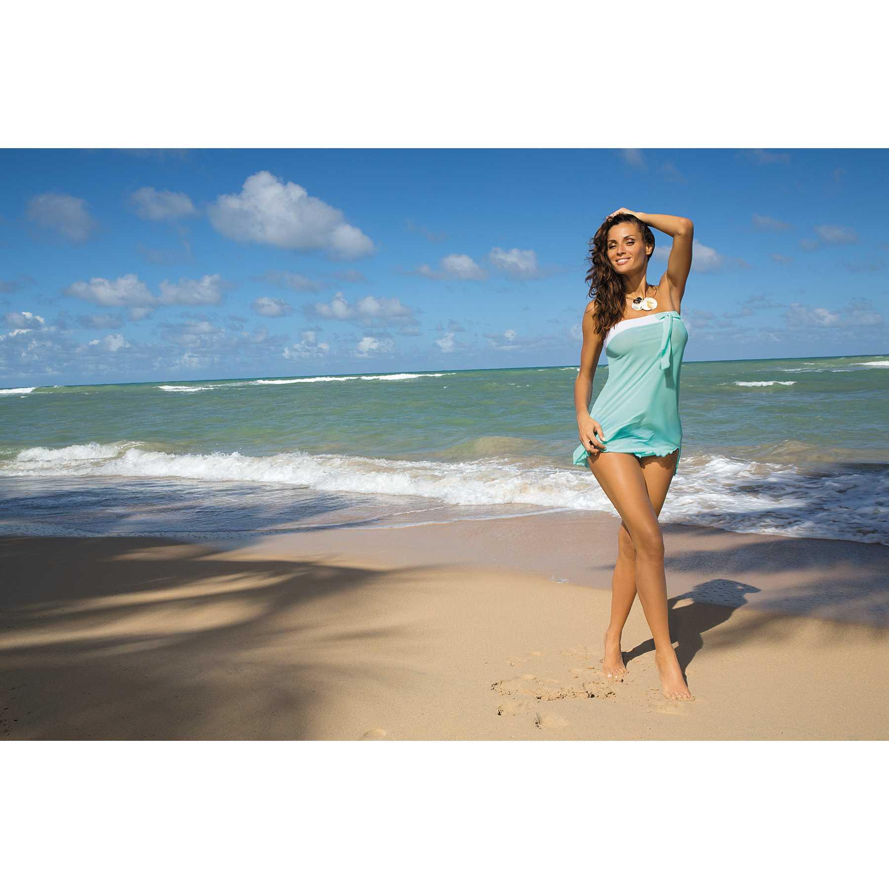 Rochie de plaja Mia Seafoam Glow