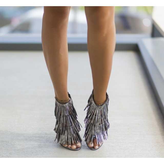 Sandale Zaxo Gri