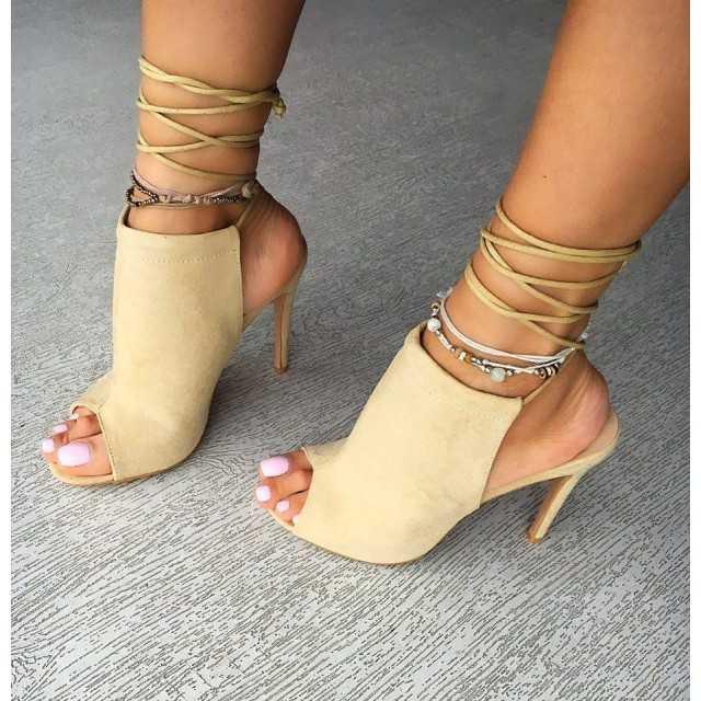 Sandale Zevo Bej