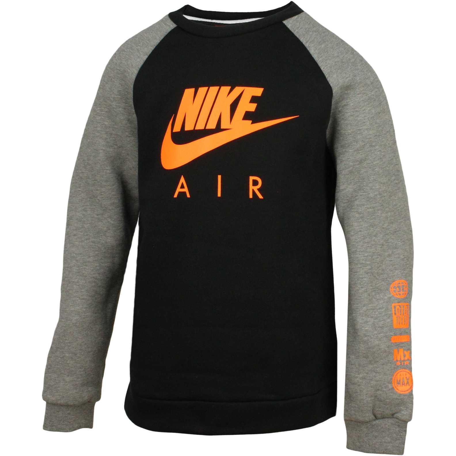 Bluza copii Nike B Nsw Crw Nike Air Longsleeve Shirt 804727-011
